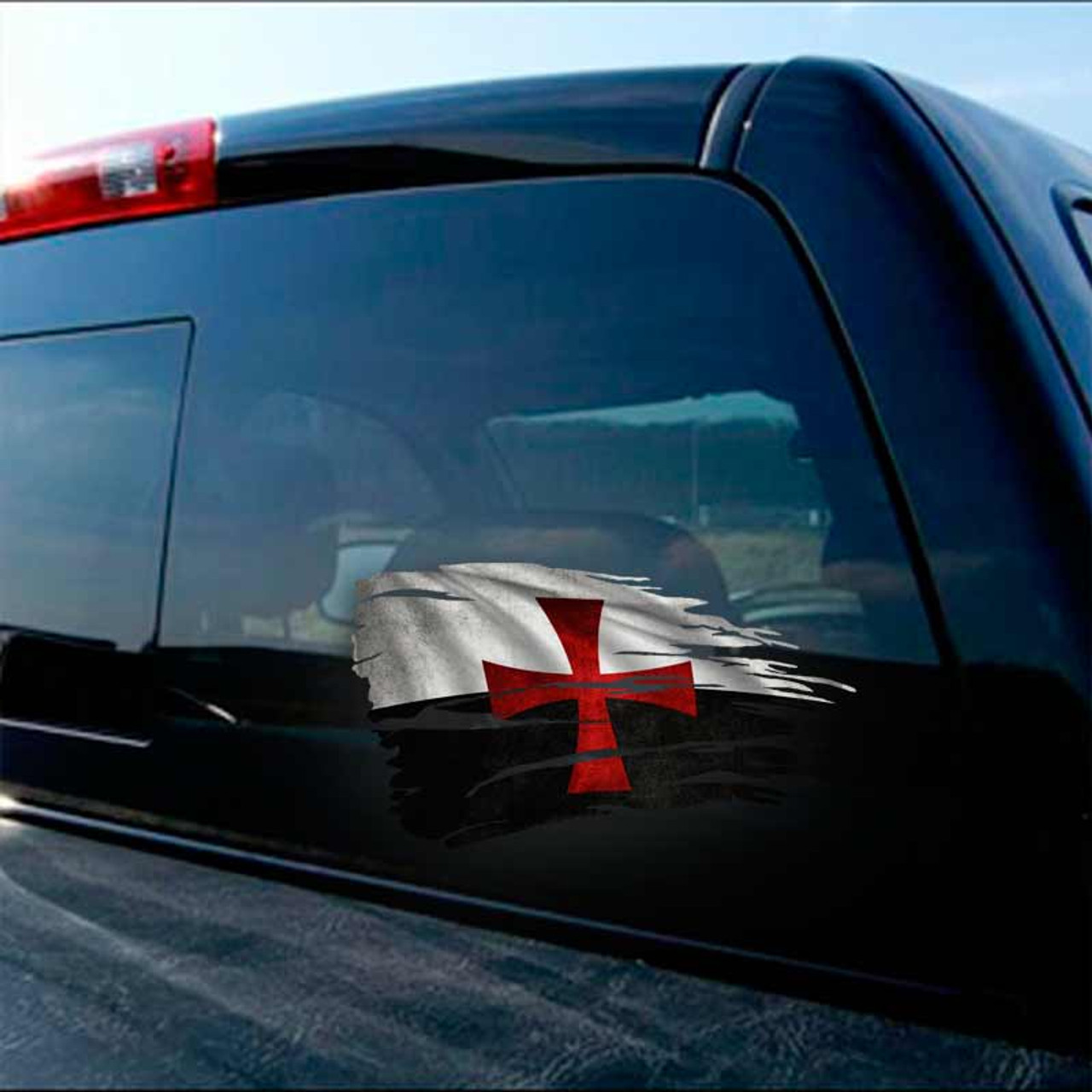 Texas Longhorns 4x4 Perfect Cut Decal Sticker Car Truck Auto FAST SHIP