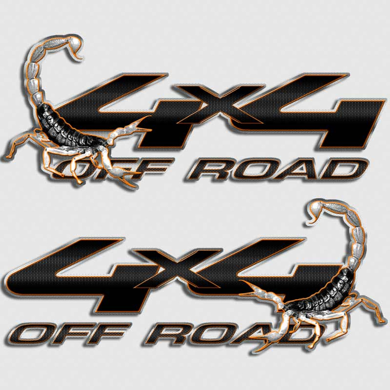 Scorpion stinger 4x4 ford decals carbon fiber truck sticker