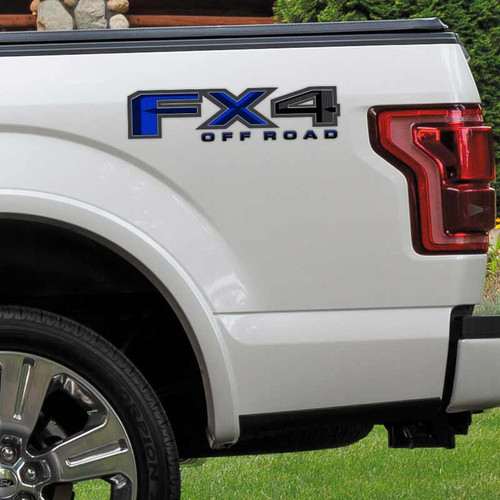 Fx4 Ford Truck Decals F150 F250 Off Road Stickers