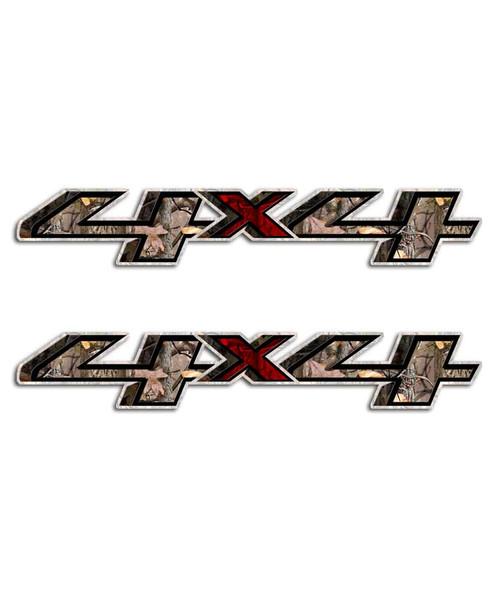 Silverado Camo 4x4 Stickers