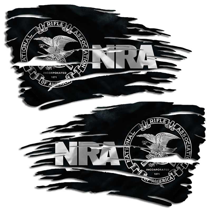 NRA National Rifle Association Gun Eagle US Flag Car Truck Vinyl Sticker Decal