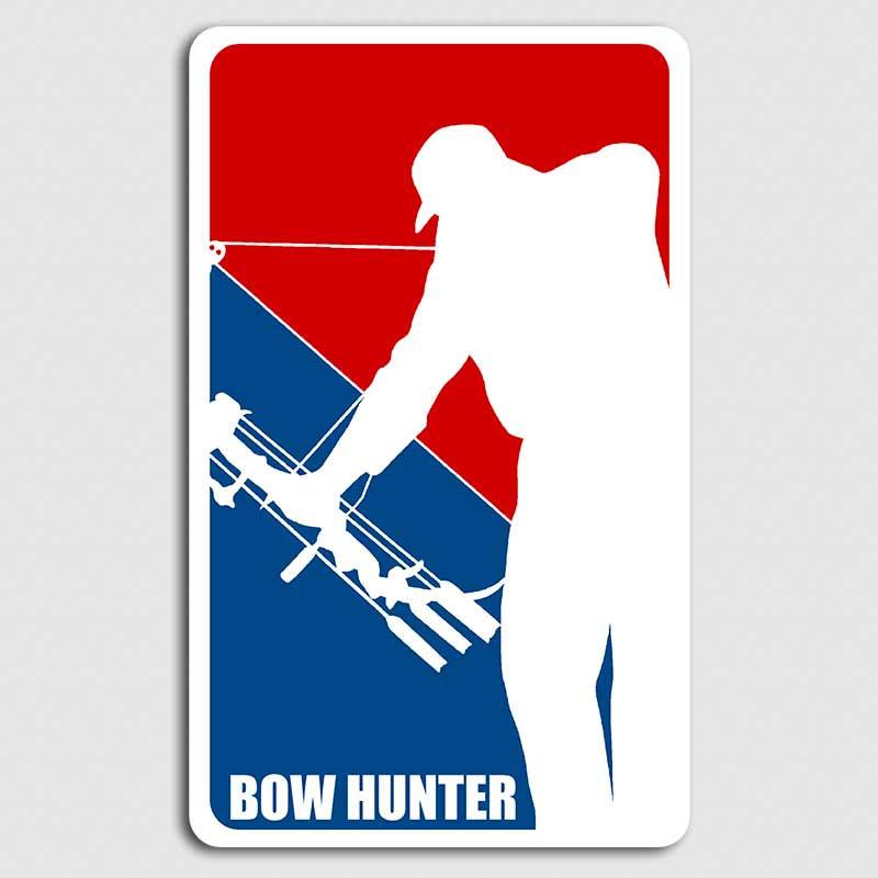 d2a1114ecd4b Major League Bow Hunter Decal