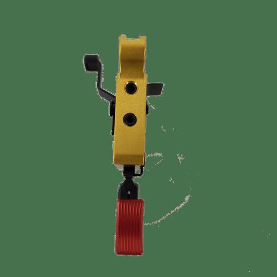 Remington 7 Calvin Elite Right Hand, Adjustable Shoe, Red