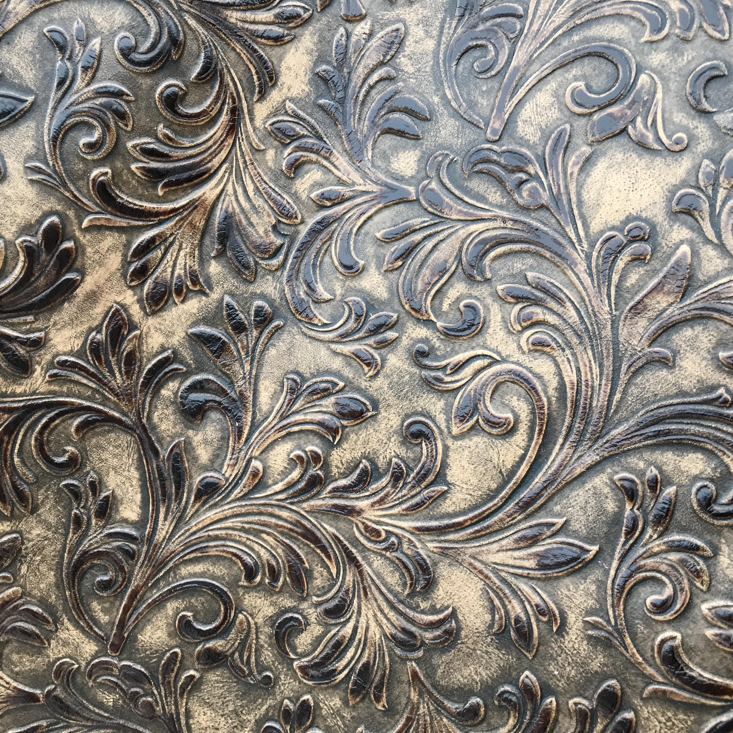 Brown Swirl