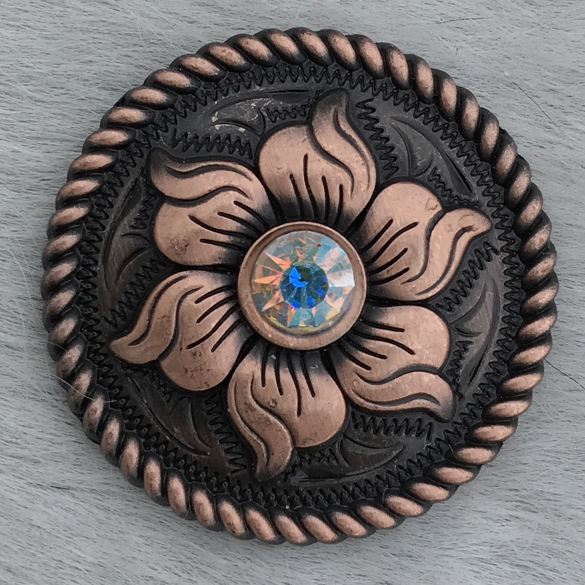 Copper Rope Edge Sunflower