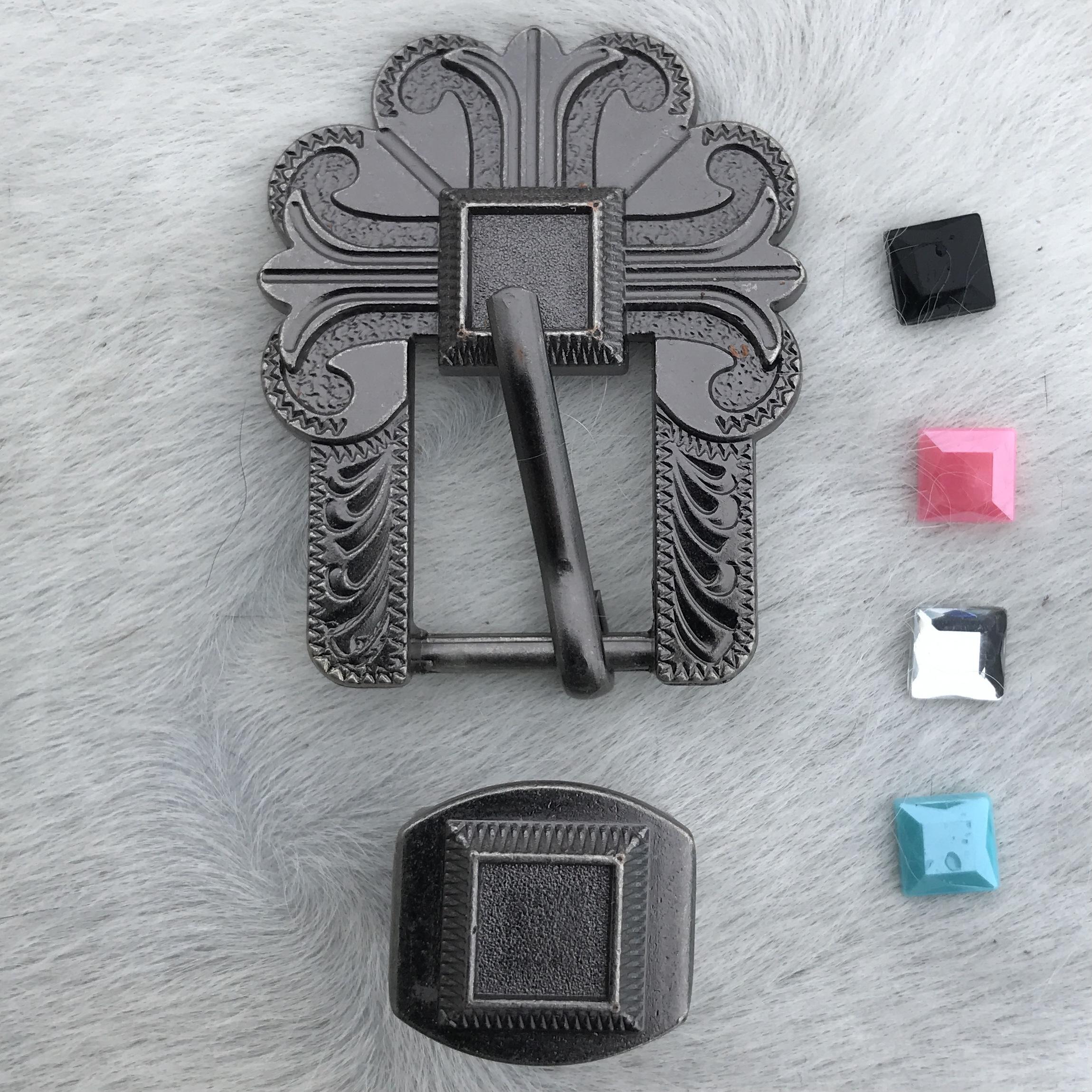 Antique Cross w/ Stone