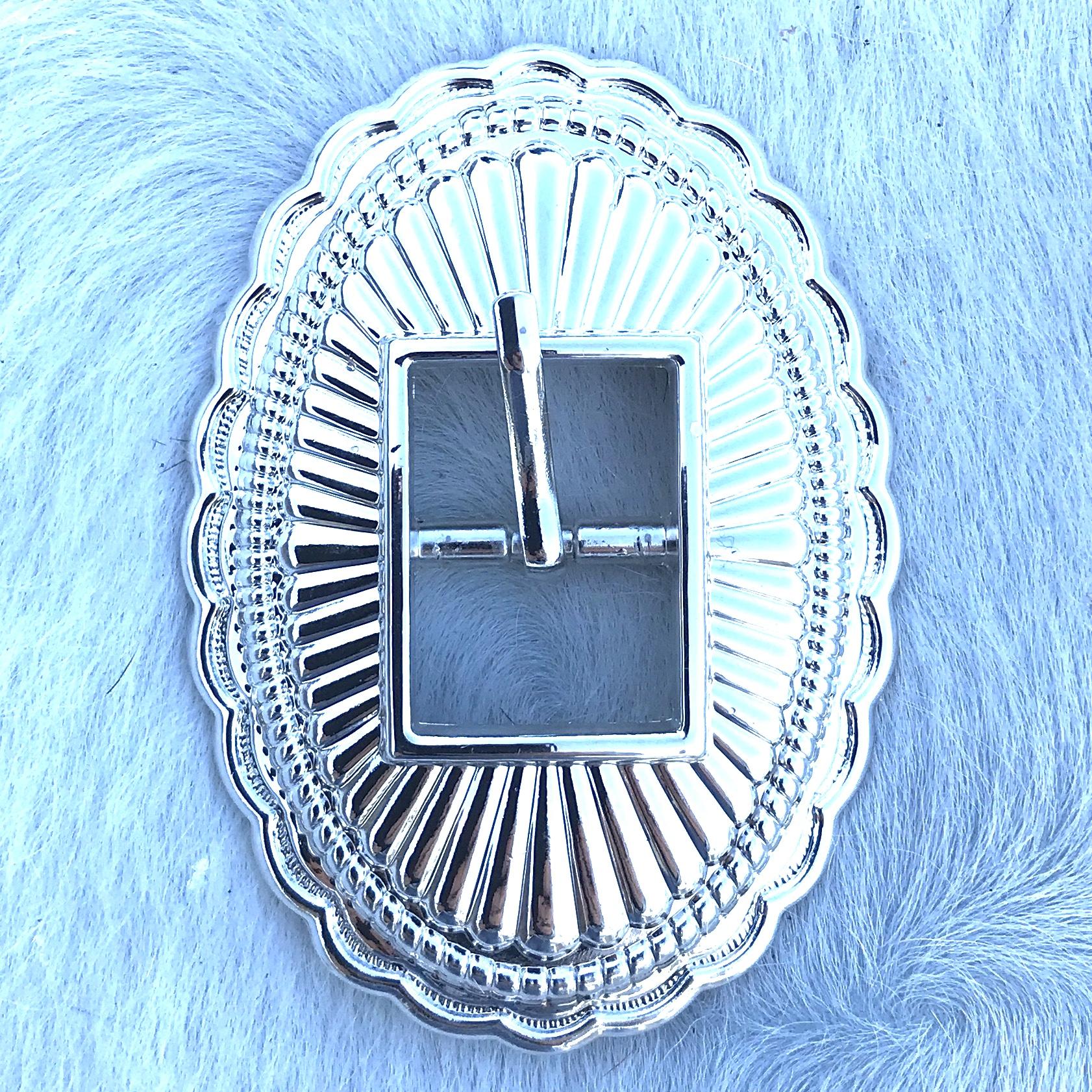 Elegant Silver Cart