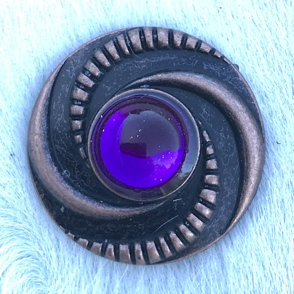 Copper Purple Swirl