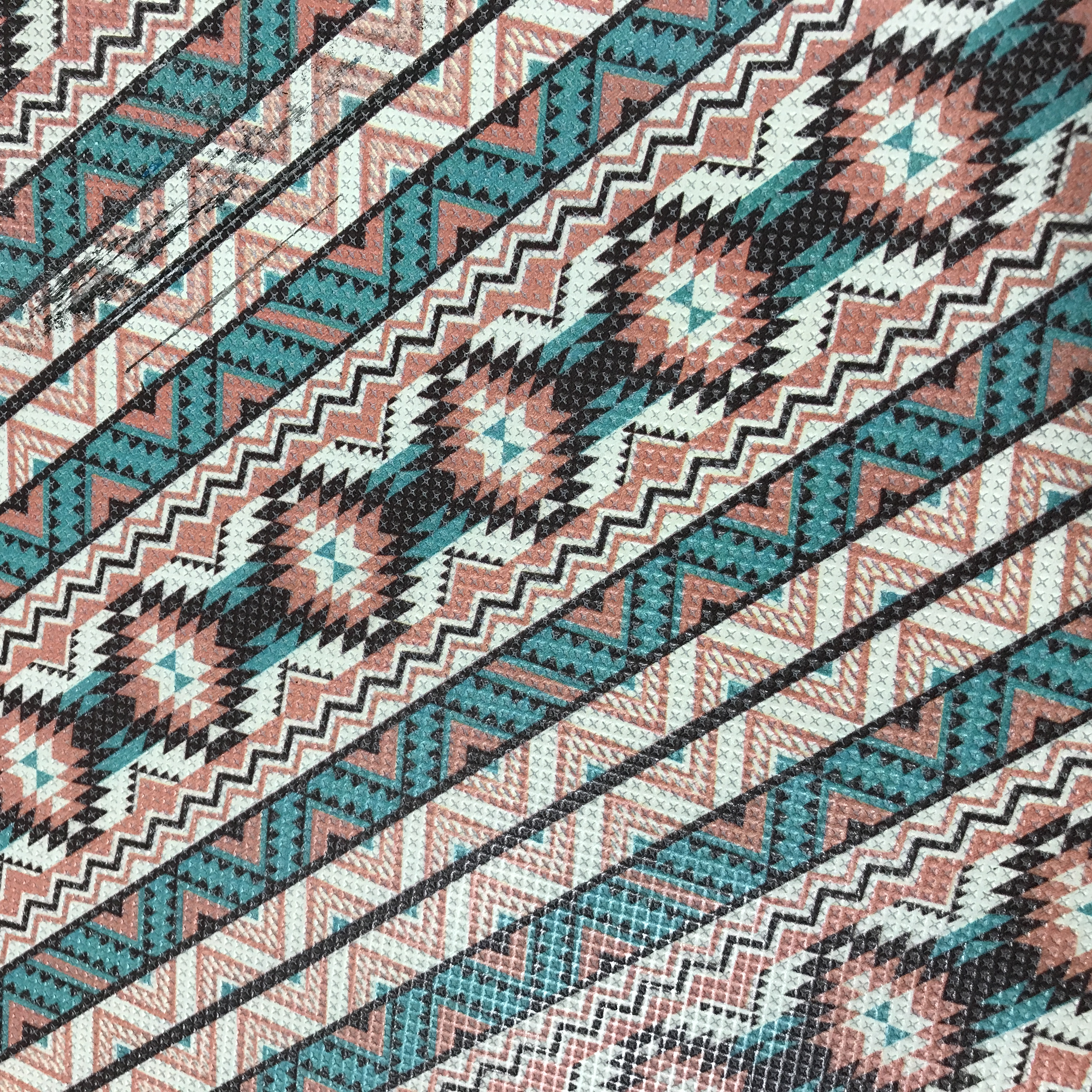 Coral & Turquoise Aztec
