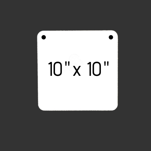 """10"""" x 10"""" Square 3/8"""" Thick"""