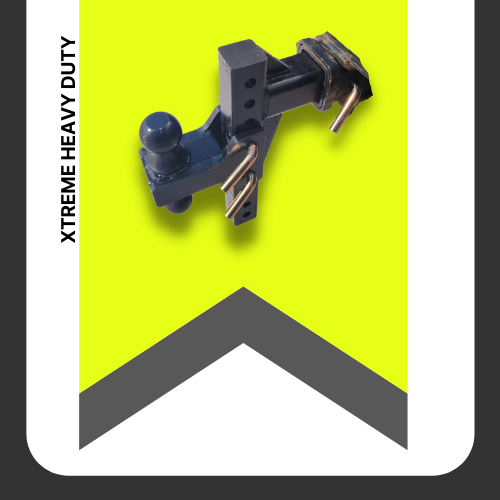 """Xtreme 2"""" Heavy Duty Steel Hitch 16"""" Drop"""