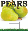 Pears Yard Sign is an Inviting Sign.