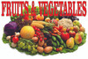 Fruits & Vegetable Beautiful Produce Banner.