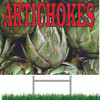 Colorful Artichokes Road Sign Will Help Bring in New Customers.