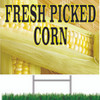 Bring In New Customers with This Fresh Picked Corn Road Sign.