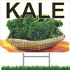 Get New Customers By Displaying Kale & Other Vegetable Sign.