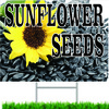 Sunflower Seed Road Sign Will Bring In New Customer.