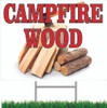 Great Way to Let Customers Know You Offer Campfire Wood.
