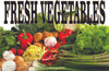 Fresh Vegetable Banner with Life Like Color Get You Noticed.