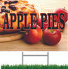 Apple Pies Road Sign Draws Attentio to your produce stand.