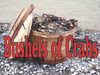 Bushels of Crabs Banner on Ice Lets Customer know you Have Many Crabs.