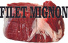 Filet Mignon Banner with Life Like Image.