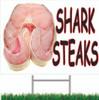 Shark Steaks Road Signs Always Gets Noticed.