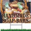 Handmade Soap Bars Yard Sign