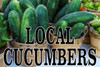 Local Cucumbers Banner