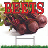Beets Yard/Road Sign for Produce Markets.
