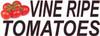 Vine Ripe Tomatoes Banner.