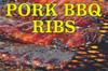 Pork BBQ Ribs Banner
