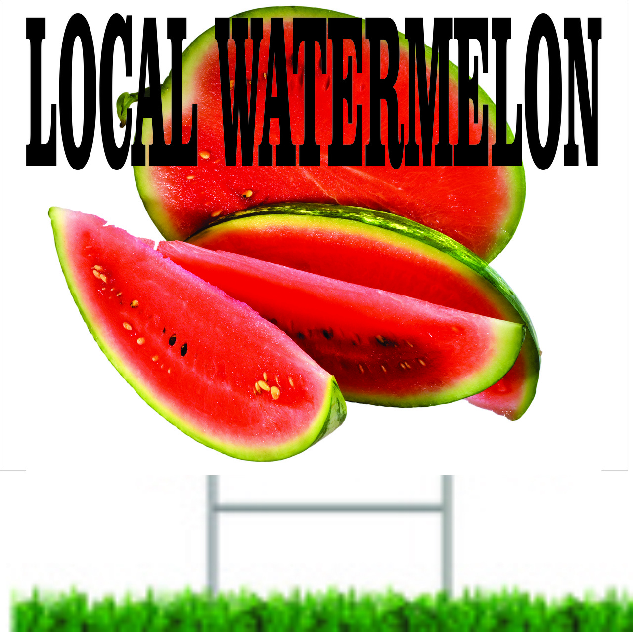 Local Watermelon Road Sign.