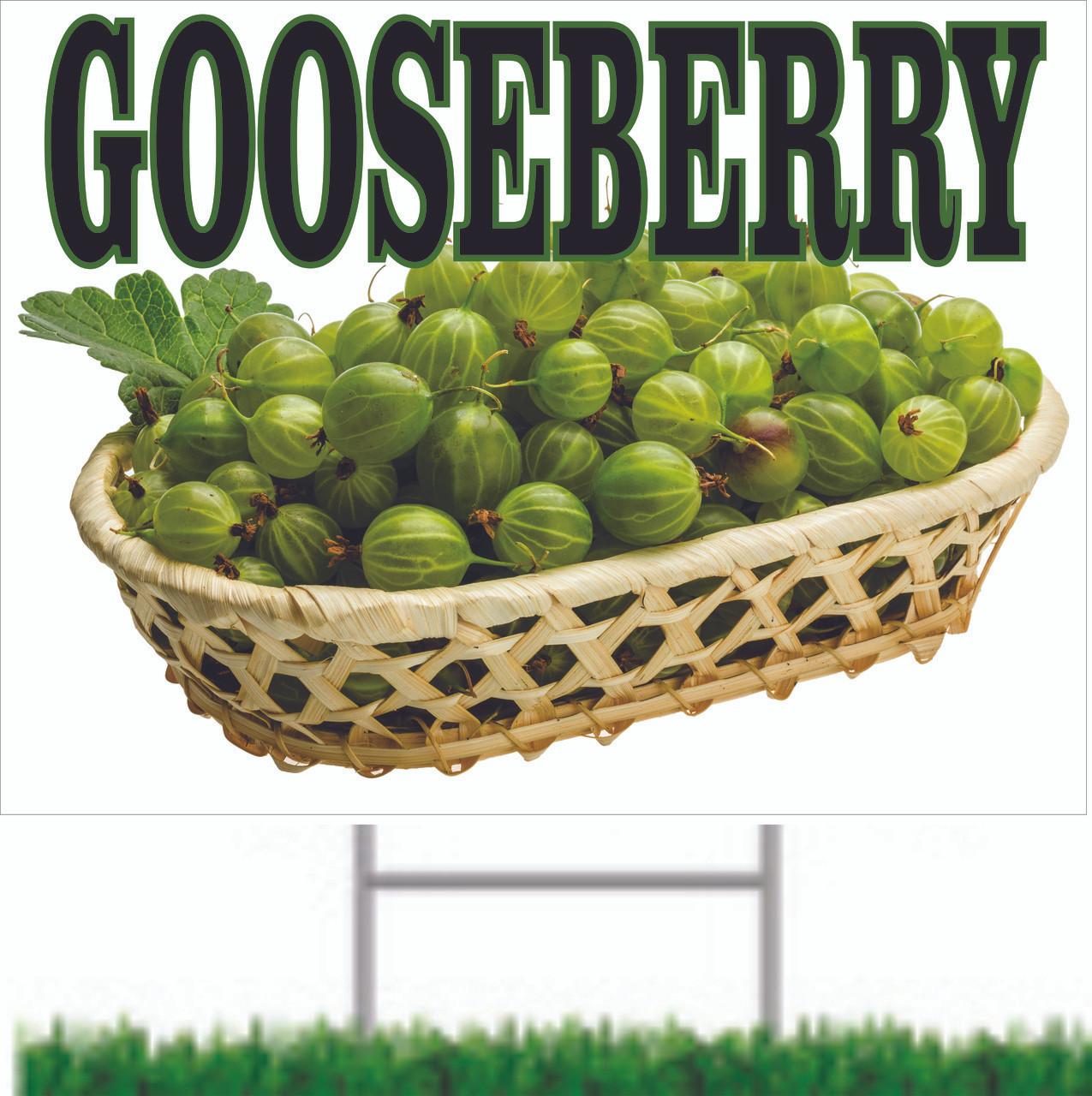 Gooseberry Road/Yard Sign