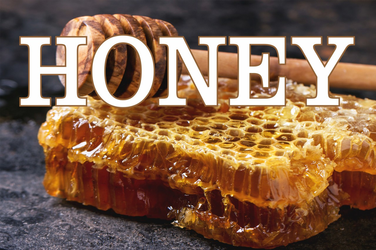 Honey Banner Lets Customers Know You Sell Honey.