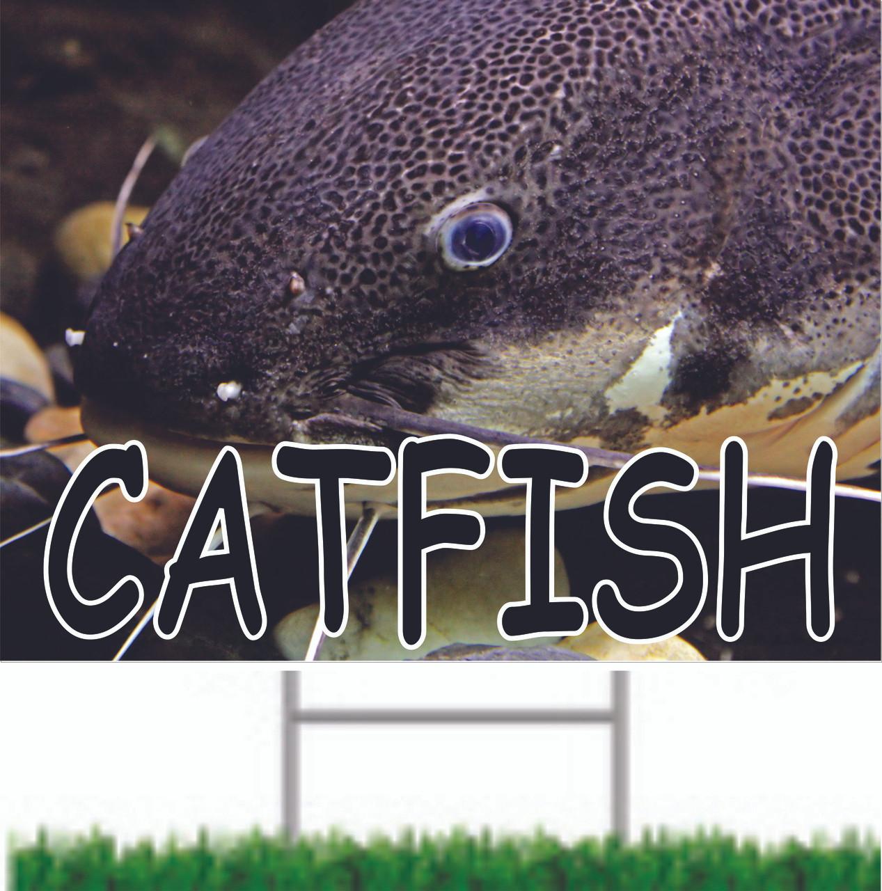 Catfish Road Sign.