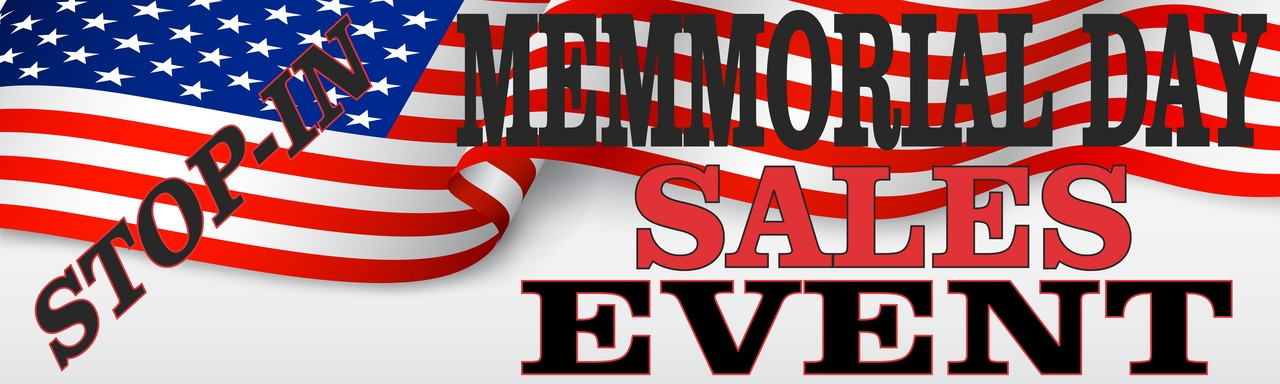 Memorial Day Car Sale >> Memorial Day Sales Event Used Car Dealer Banner Ad 27