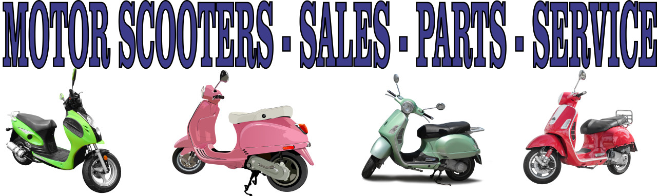 Motor Scooters Sales - Parts - Service Banner AR 42