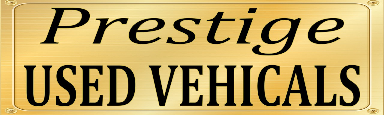 Auto Sales Banners, Prestige Used Vehicles Car Dealer