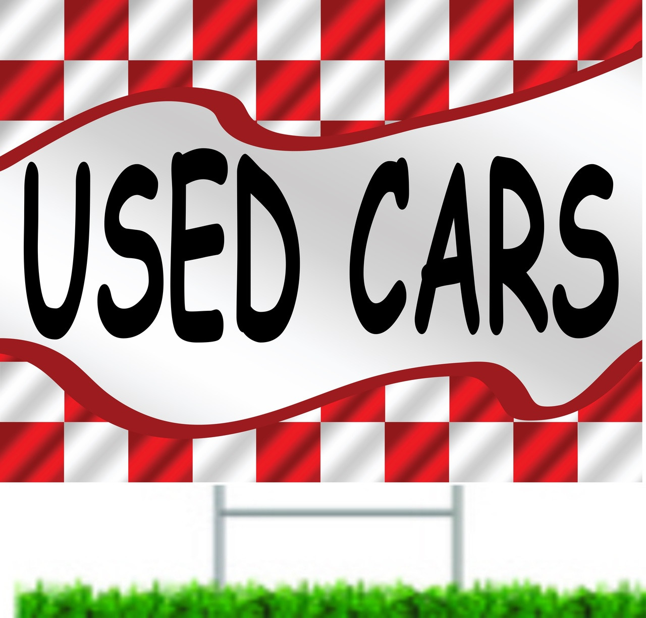 Used Cars Curb Signs & Yard Signs.