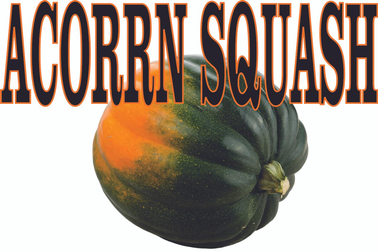 Acorn Squash Banner