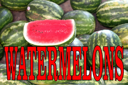 Watermelons Bright Colorful Banners That Always Gets You Noticed!
