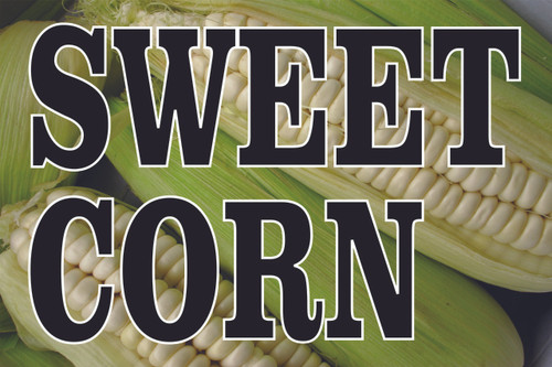 White Corn Nice for Farm Stands & Farmers Markets