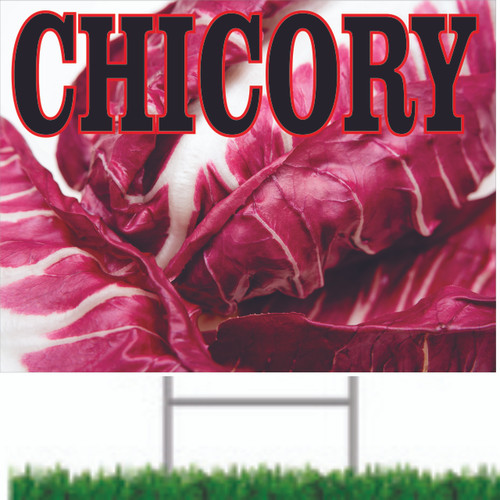 Nice Colorful Chicory Road Sign Will Get You Noticed.