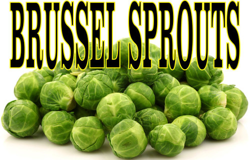 Buy a Brussel Sprout Banners in full color here at Stop The Traffic it gets noticed.