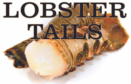 Inviting Lobster Tails Banner will Make Customer Want To Buy.