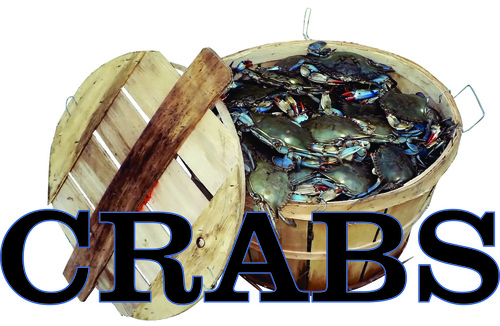 Crabs in a Bushel lets Customers know You Have Crabs for Sale.
