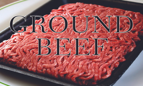 Ground Beef Banner is nice for butchers shops.