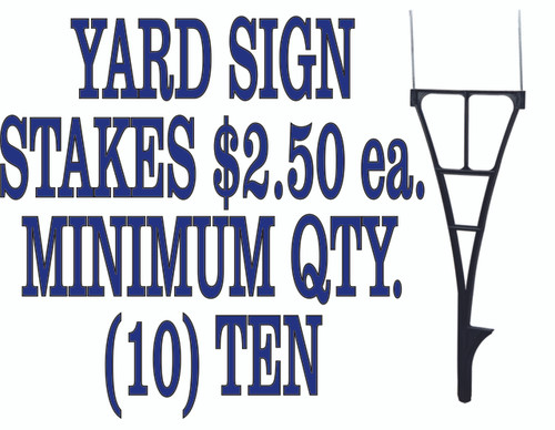 Yard/Road Sign Stakes for 18in.x24in. Signs