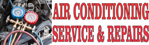 Air Conditioning Service & Repairs Banner.